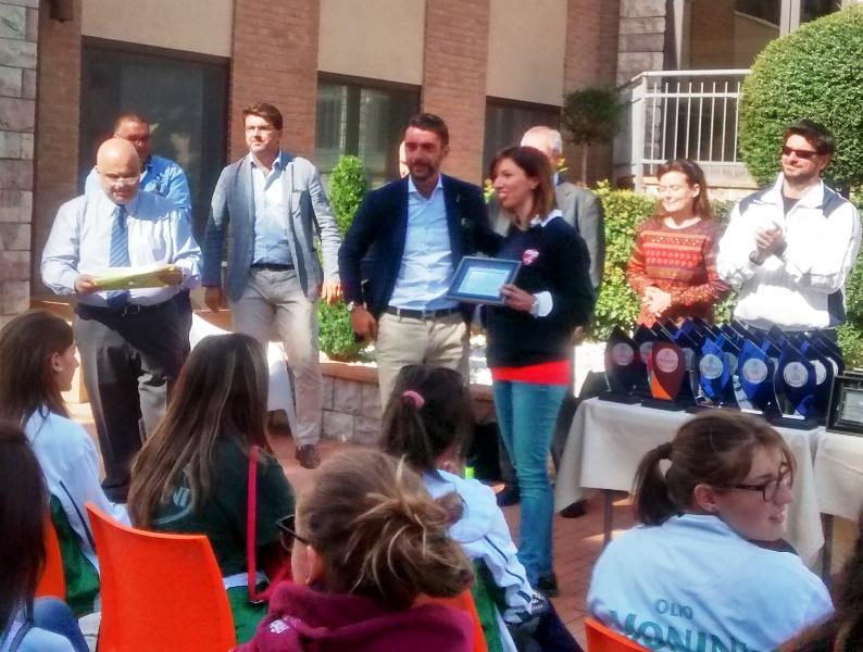 Giornata di premiazioni della Fipav Umbria