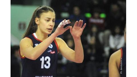 La 3M Perugia puntella l'attacco con Elisa Mezzasoma