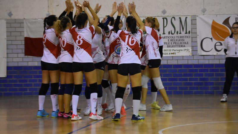 Serie C: EGS Pallavolo Perugia Vs/ V. Città di Castelli 3-1