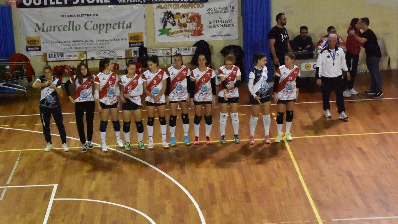 Serie C:  Nuova Trasimeno Volley Vs/ EGS Pallavolo Perugia3-0