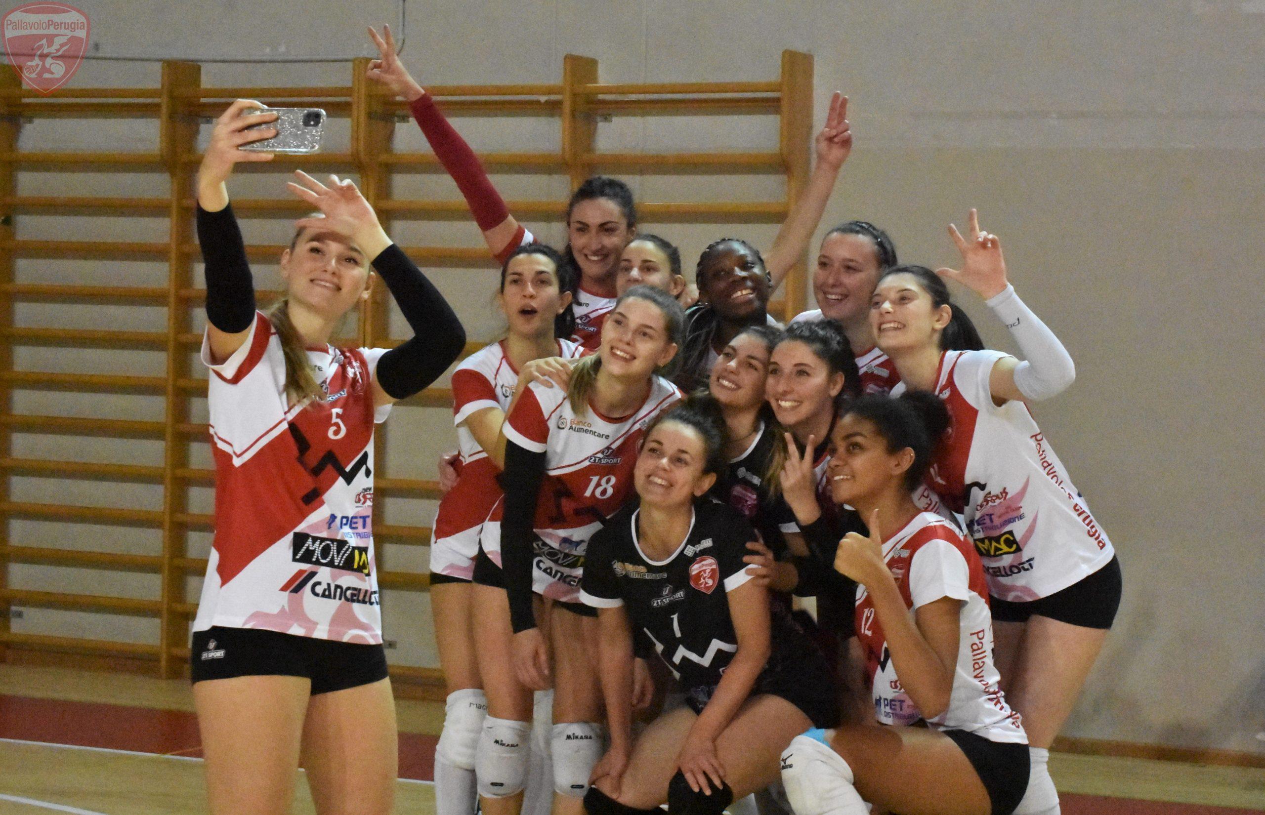 La 3M Perugia dà spettacolo: vittoria da tre punti contro Empoli