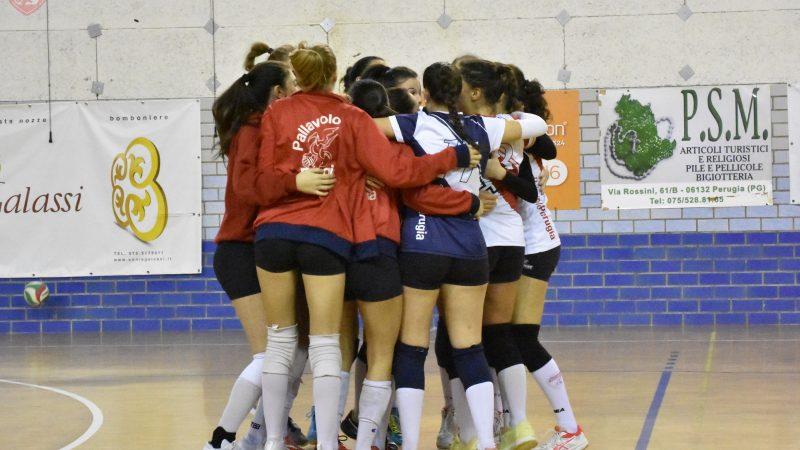 Serie C: EGS Pallavolo Perugia Vs/ Fossato Volley 3-0