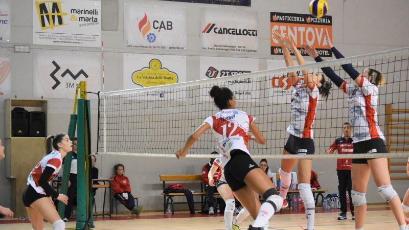 3M Pallavolo Perugia Vs/ MegaBat Pesaro 3-1