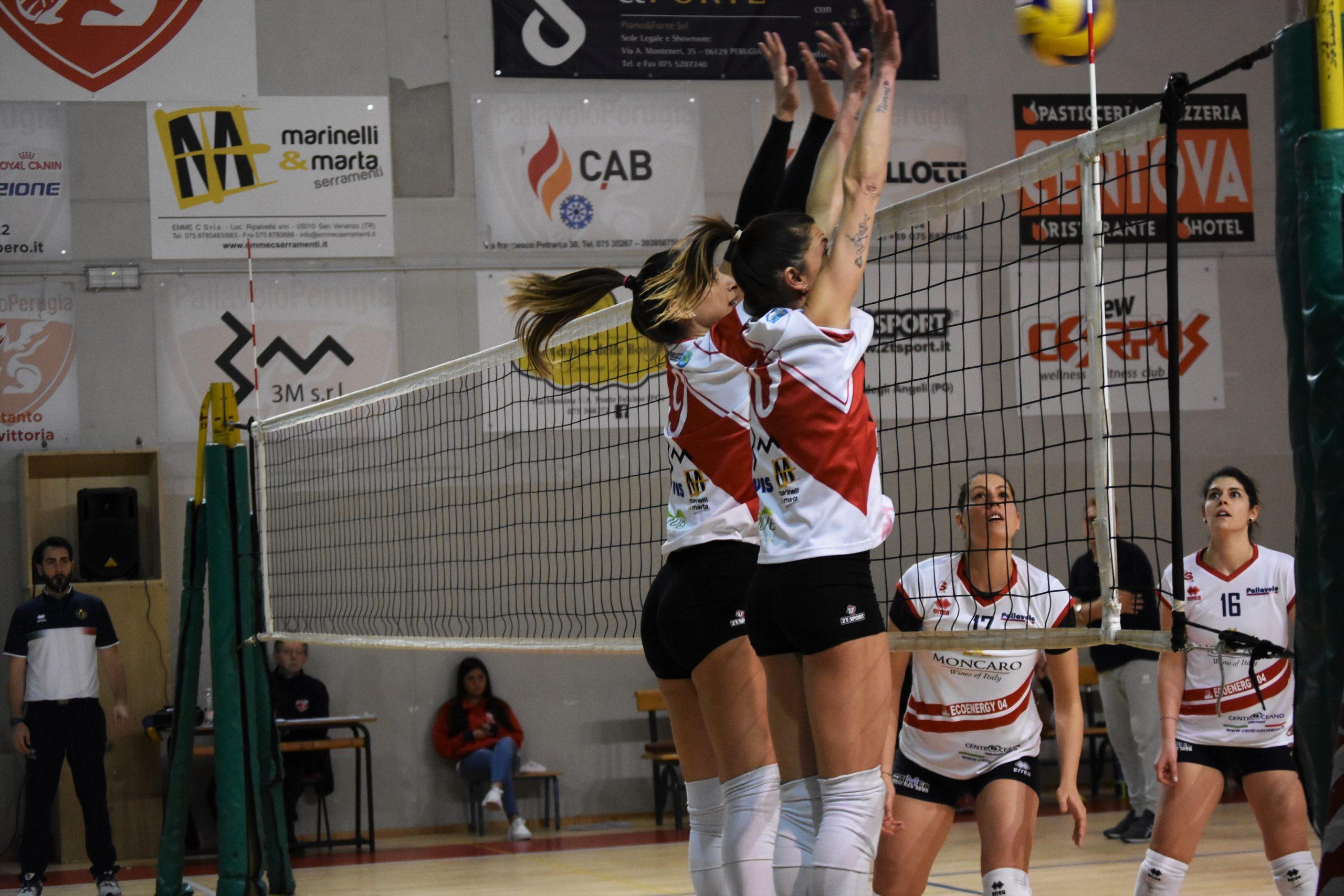 3M Pallavolo Perugia Vs Moncaro Moie 3-0
