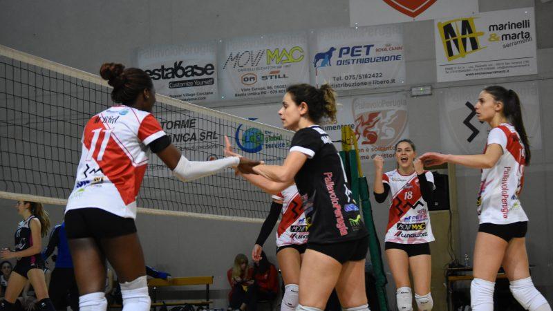 3M Pallavolo Perugia Vs/ Volleyrò Casal dè Pazzi 0-3